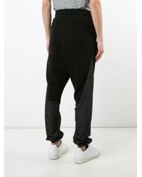 Mostly Heard Rarely Seen - Black Paneled Track Pants for Men - Lyst