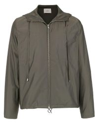 Egrey - Green Windbreaker Jacket for Men - Lyst