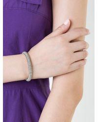 Carolina Bucci - White Twister Bracelet - Lyst