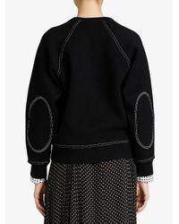 Burberry - Black Logo Sweater - Lyst