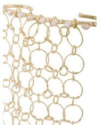 Rosantica - Metallic Hand Cuff Bracelet - Lyst