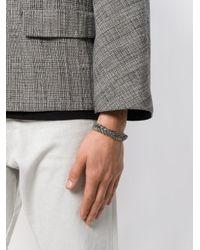 Emanuele Bicocchi Metallic Woven Bracelet