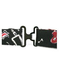 Dolce & Gabbana - Black Jazz Band Print Bow Tie for Men - Lyst