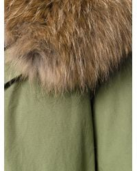 Mr & Mrs Italy - Green Hooded Parka - Lyst