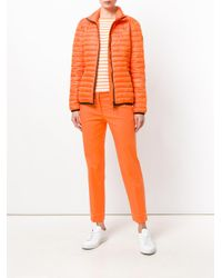 Emilio Pucci - Orange Short Padded Coat - Lyst