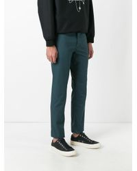 KENZO - Green Classic Chinos for Men - Lyst