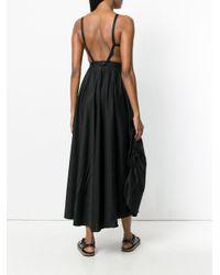 Andrea Ya'aqov Black Sleeveless Empire Line Dress