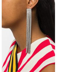 Marc Jacobs - White River Earrings - Lyst
