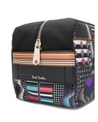 Paul Smith - Black Printed Wash Bag - Lyst