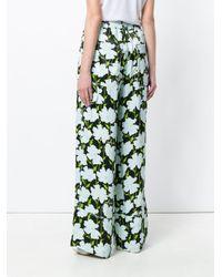 Off-White c/o Virgil Abloh - Green Fantasia Print Trousers - Lyst