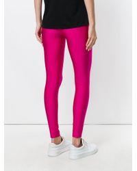 Erika Cavallini Semi Couture - Pink Classic Leggings - Lyst