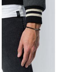 Northskull - Black Adjustable Stone Bracelet for Men - Lyst