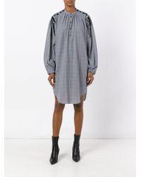 A.F.Vandevorst - Gray Shirt Dress - Lyst