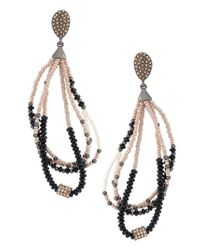 Camila Klein - Metallic Beaded Earrings - Lyst