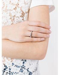 Rosa Maria - Metallic Saphosstdia Diamond Ring - Lyst