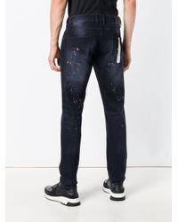 Les Hommes - Blue Slim-fit Jeans for Men - Lyst