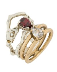 Voodoo Jewels - Metallic Changing Ring - Lyst