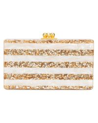 Edie Parker - Metallic Embellished Clutch Bag - Lyst