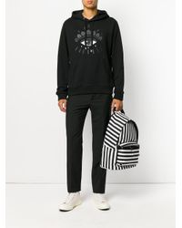 KENZO | Black Eye Hoodie for Men | Lyst