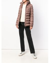 Peuterey - Brown Padded Fitted Jacket - Lyst