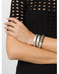 Givenchy - Metallic Obsedia Pure Wraparound Bracelet - Lyst