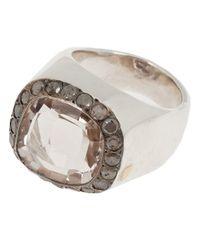 Rosa Maria | Metallic 'jira' Ring | Lyst