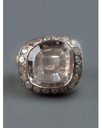 Rosa Maria   Gray 'jira' Ring   Lyst