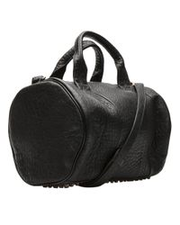 Alexander Wang - Rocco In Black Pebble With Antique Brass - Lyst