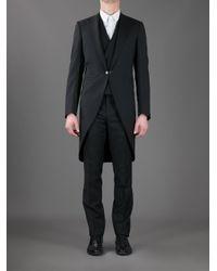Lanvin | Black - Three Piece Morning Suit - Men - Wool/merino - 50 for Men | Lyst