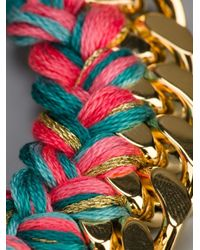 Aurelie Bidermann - Metallic 'do Brasil' Bracelet - Lyst