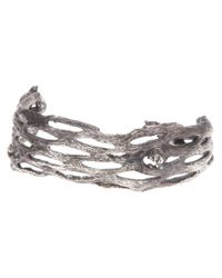 Alice Waese | Metallic Palm Cuff for Men | Lyst