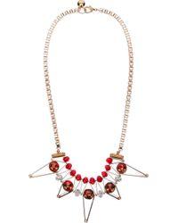 Scho - Metallic 'star' Necklace - Lyst