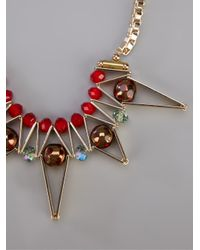 Scho - Metallic 'star' Necklace - Lyst