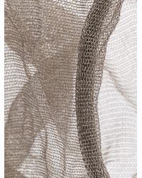 Christian Koban - Gray Cocoon Woven Bracelet - Lyst
