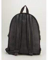 Eastpak - Black Classic Leather Backpack for Men - Lyst