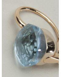 Pomellato | Blue Gold Topaz Earring | Lyst