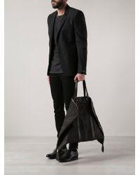Guidi - Black Big Traveler Bag for Men - Lyst