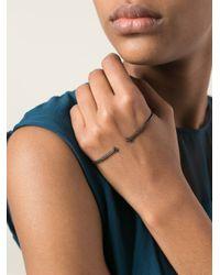 Gaydamak - Black Hand Bracelet - Lyst