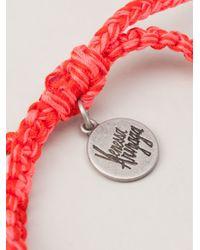 Venessa Arizaga | Pink Crushing Beaded Cord Bracelet | Lyst
