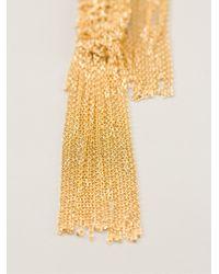 Christian Koban | Metallic 'woven' Necklace | Lyst