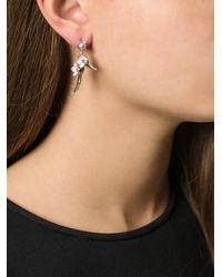 Shaun Leane - Metallic 'cherry Blossom' Rhodolite Earrings - Lyst