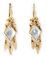 Stephen Webster | Metallic Scroll Hanging Daggers Earrings | Lyst