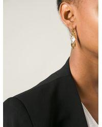 Stephen Webster | Metallic Scroll Hanging Daggers Earrings | Lyst