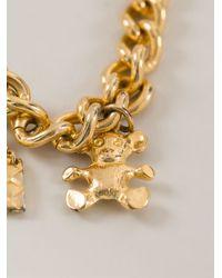 Moschino - Metallic Charm Necklace - Lyst