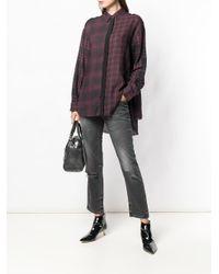 DIESEL - Black Belthy-ankle-d 069bh Jeans - Lyst