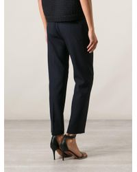 3.1 Phillip Lim - Blue Pleated Front Trousers - Lyst