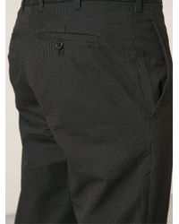 Ann Demeulemeester - Black 'aiden' Trousers for Men - Lyst