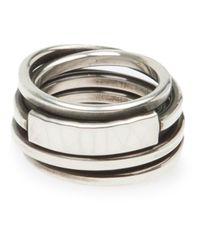 Werkstatt:münchen - Metallic 'M197' Ring for Men - Lyst