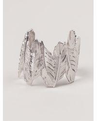 Joanna Laura Constantine | Metallic 'feather' Cuff | Lyst