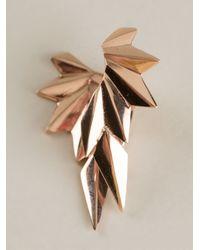 Maria Black - Metallic 'wing Reverse' Right Single Earring - Lyst